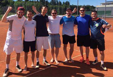 Teamfoto Herren Aktive 1. Liga 2019